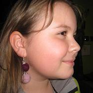 kurz šperky z plstěných kuliček